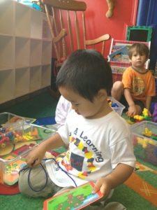 今年4歳になる長男は現地保育園に通い始めています。