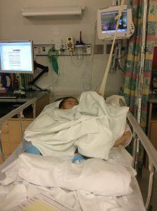 ザ・アメリカの病院です。米軍の一大拠点のオアフは医療が充実しているのも魅力のひとつです。