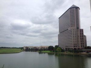 ダラスで不動産投資:ホテルからの景色