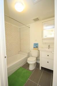 ハワイでリフォーム完成:バスルーム