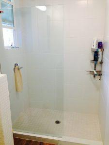 ハワイでリフォーム:シャワーアフター