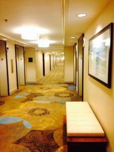 Ilikai_upgraded:時代を感じた廊下も一新