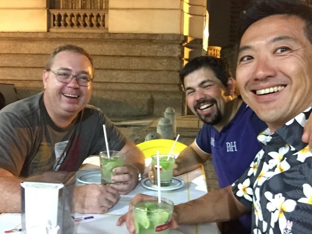 ハワイで大家:リオ五輪 いつものメンバーとも再会