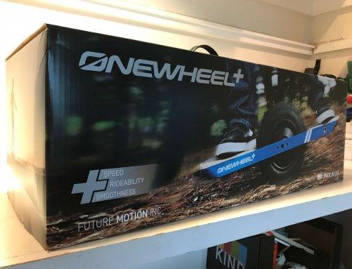 Onewheel+が来たw
