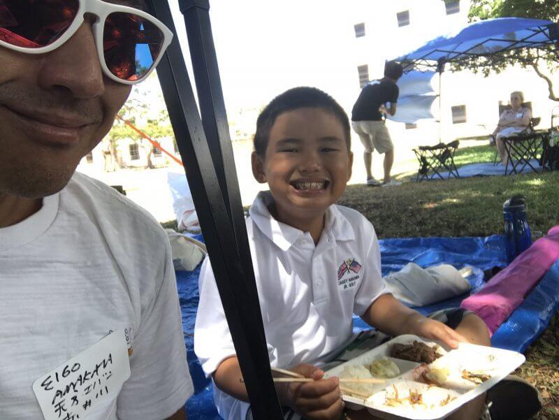 ハワイで大家:ハワイ北海道会のジンギスカン2017