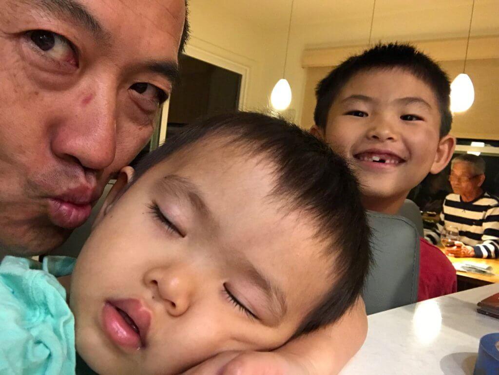 ハワイで大家:移住生活7年目の2018年の次男とハワイ生まれの三男