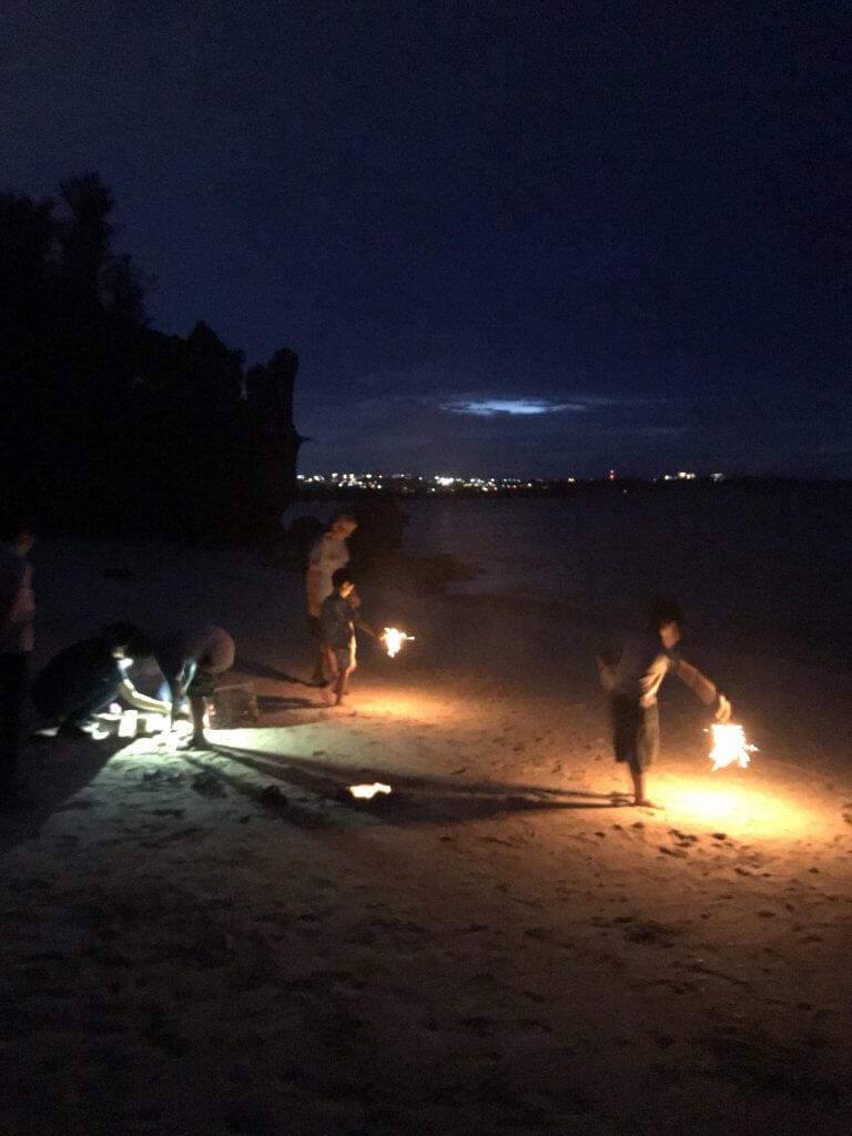 ハワイで大家:沖縄夏ステイ2018 花火